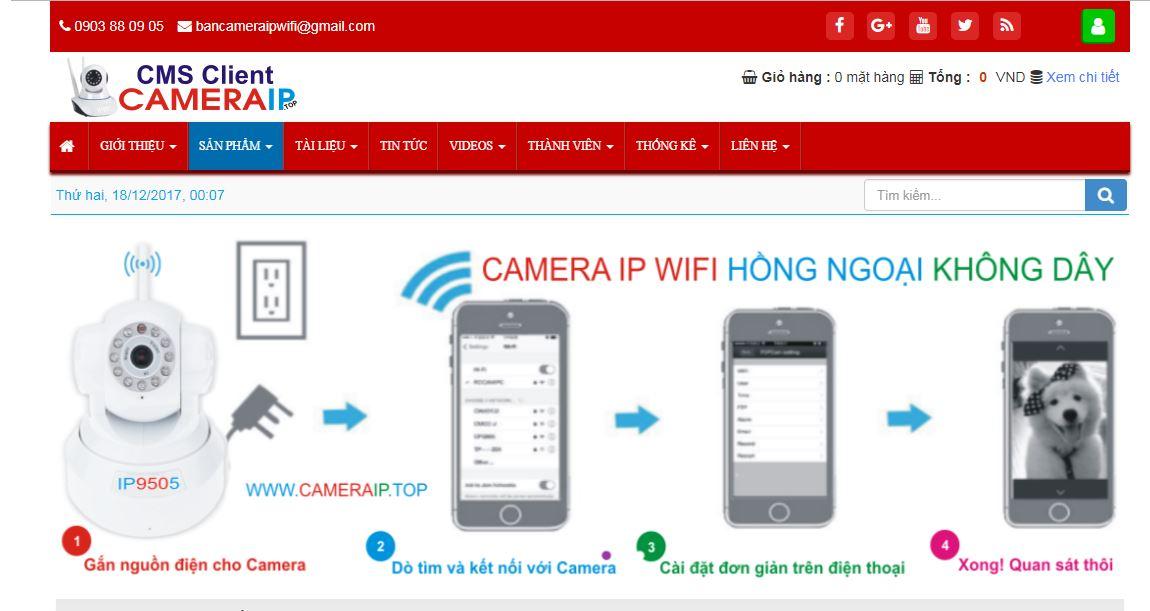 Camera ip - Hệ thống phân phối